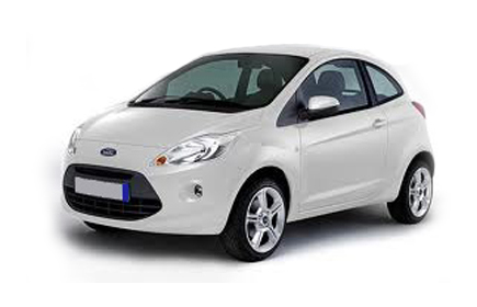 Ford ka 3d bialy