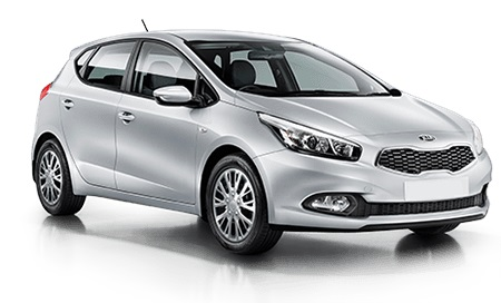 Car hire Kia CEED