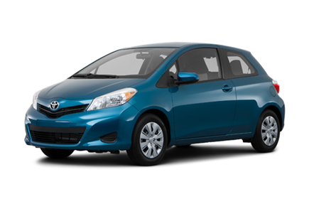 Car hire Toyota YARIS