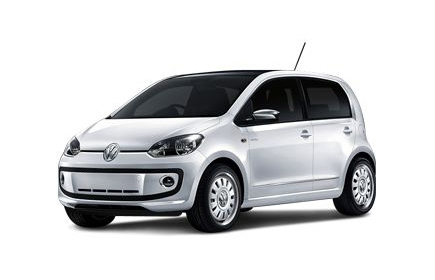 Volkswagen up 5d bialy